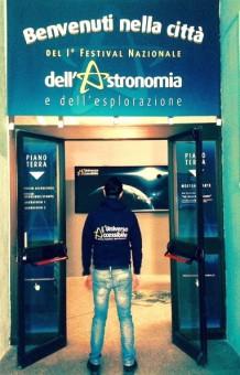 Ingresso ad uno degli spazie espositivi del Festival Credits: Festival dell'Astronomia di Campobasso