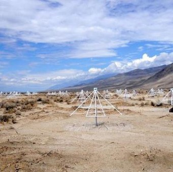 Owens Valley Long Wavelength Array. Crediti: Crediti: Gregg Hallinan/Caltech