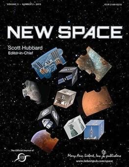 La copertina della rivista. Crediti: Mary Ann Liebert Inc.