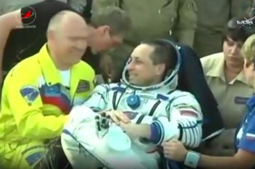 Anton Shkaplerov, l'astronauta russo