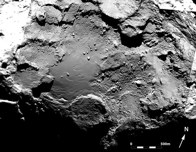 Crediti: ESA / Rosetta / MPS per il team di OSIRIS / UPD / LAM / IAA / SSO / INTA / UPM / DASP / IDA.