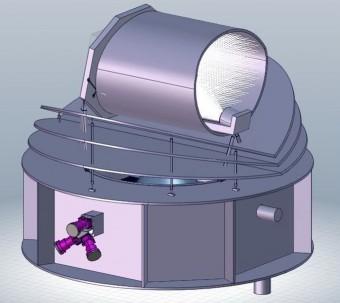 Una rappresentazione dell'osservatorio spaziale ARIEL. Crediti: ESA