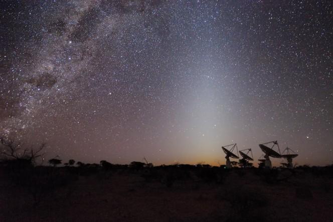 Le antenne ASKAP in Australia