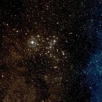 L'ammasso stellare aperto Messier 6. Crediti: Wikisky