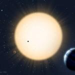 Artist's Impression of HD 219134 planetary system, Avet Harutyunyan (FGG-TNG) 2015