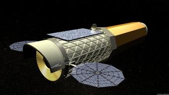 Il telescopio a raggi X NASA IXO nel rendering dei progettisti.