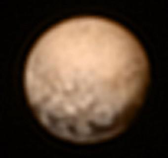 La più recente vista di Plutone ottenuta da New Horizons prima dell'anomalia del 4 luglio. Crediti: NASA/JHUAPL/SWRI