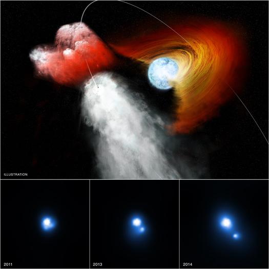 Immagine ai raggi X: NASA/CXC/PSU/G.Pavlov et al; Illustrazione: NASA/CXC/M.Weiss