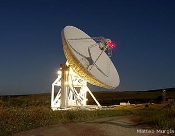 Sardinia Radio Telescope. Crediti: Matteo Murgia (INAF)