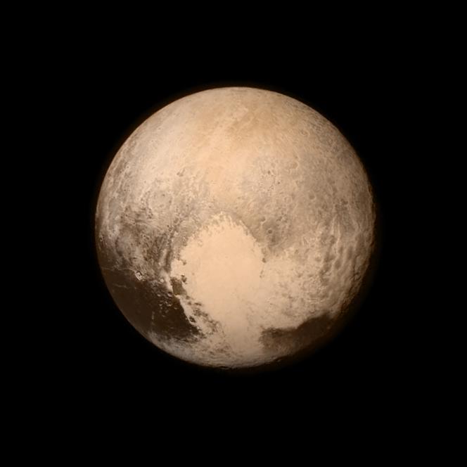 Plutone ripreso il 13 luglio scorso