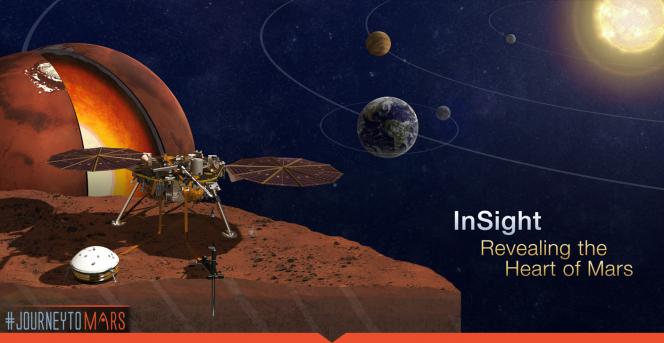 Sul sito della missione InSight un'iniziativa per spedire il proprio nome su Marte, registrato su un microchip. Crediti: NASA.