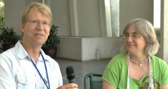 Gli astronomi Michael Montgomery, dell'Università del Texas a Austin e Judith Provencal dell'Università del Delaware