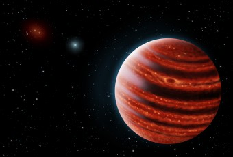 Rappresentazione artistica di 51 Eri b. Crediti: Danielle Futselaar e Franck Marchis, SETI Institute