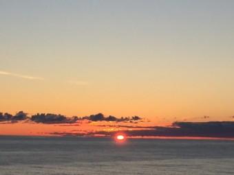 Capo Nord, Norvegia. Il sole di mezzanotte fotografato da Emiliano Ricci.