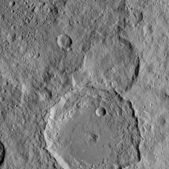Il cratere Gaue