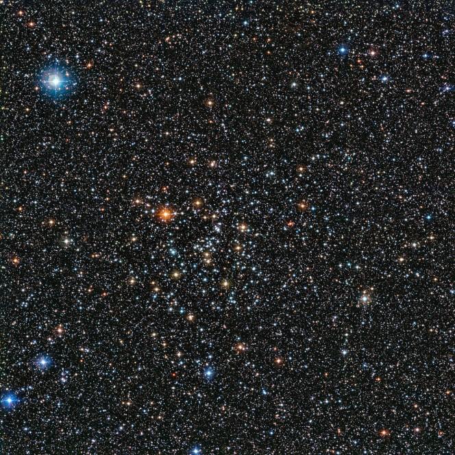L'immagine è stata ottenuta dal WFI (Wide Field Imager) montato sul telescopio da 2,2 metri dell'MPG/ESO all'Osservatorio dell'ESO di La Silla in Cile. Mostra un ammasso aperto noto come IC 4651, un raggruppamento di stelle nella costellazione dell'Altare. Crediti: ESO