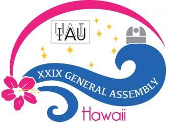 IAU XXIX GA Hawaii Logo