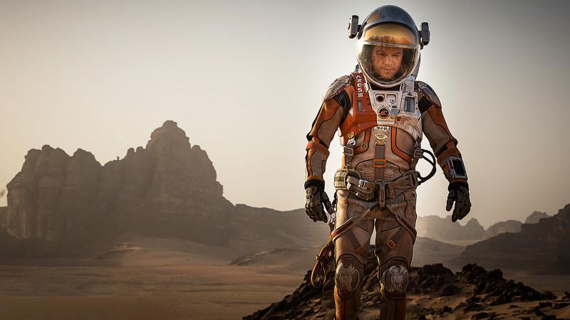 """Matt Damon nel film """"The Martian"""", in uscita il prossimo ottobre"""