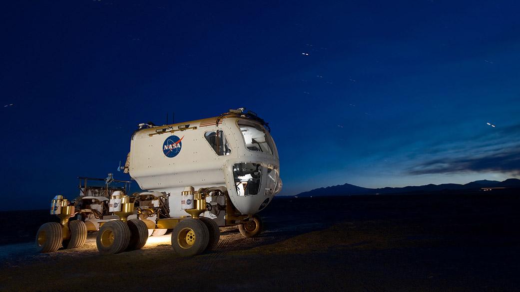 La NASA sta lavorando a un veicolo che sarà in grado di muoversi su Marte: il Multi-Mission Space Exploration Vehicle (MMSEV). CreditI: NASA