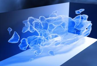 Mappa 3D della distribuzione su larga scala della materia oscura ricostruita da misure di lente gravitazionale debole utilizzando il telescopio spaziale Hubble