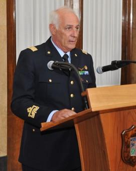 Il Gen. Brig. A.A.r.a.n. Massimo Berti. Crediti foto: T. Col. Maurizio Simeone. Fonte: Reparto Generale Sicurezza - Roma