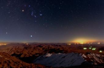 Il cielo sopra Mount Gargash. Crediti: TWAN/Babak A. Tafreshi
