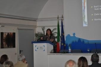 La professoressa María Teresa Ruiz