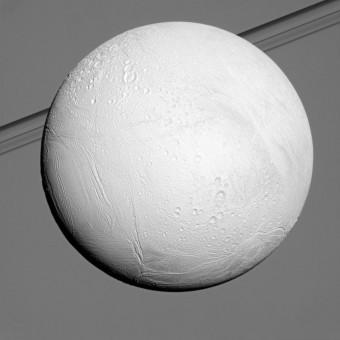 Encelado ripreso dalla missione Cassini-Huygens. Crediti: NASA/JPL/Space Science Institute