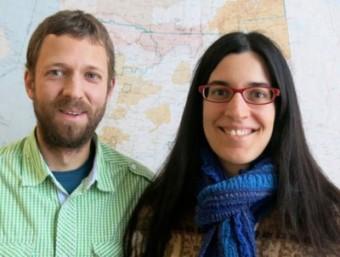 Robert Michell e Marilia Samara. Crediti: NASA