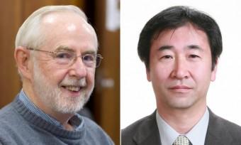 Arthur McDonald e Takaaki Kajita. Crediti: Queens University, Università di Tokyo
