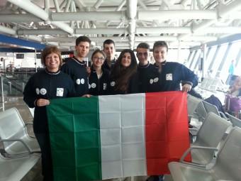 La squadra italiana alle Olimpiadi di Astronomia 2015