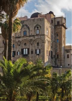 La sede dell'Osservatorio Astronomico di Palermo