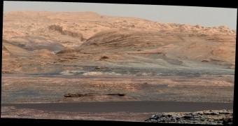 Le Bagnold Dunes nell'obiettivo del rover NASA Curiosity. Crediti: NASA / JPL-Caltech / MSSS.