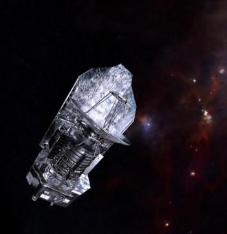 Il telescopio spaziale Herschel (2009-2013) ha osservato il cielo nell'infrarosso, permettendoci di ottenere un affascinante sguardo sulle prime fasi di vita delle stelle. Crediti: ESA