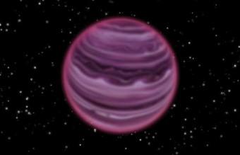 Rappresentazione di fantasia del pianeta solitario PSO J318.5-22 a 75 anni luce dalla Terra. Crediti: MPIA / V.Ch.Quetz.