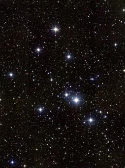 L'ammasso stellare aperto Messier 41, o M41. Crediti, 2MASS Atlas Image Gallery: The Messier Catalog