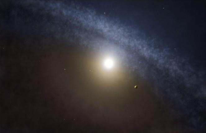 Alcuni astronomi, usando ALMA (Atacama Large Millimiter/submillimeter Array) hanno trovato differenze significative tra le lacune del gas e quelle della polvere nei dischi di quattro giovani stelle. Queste osservazioni sono l'indicazione più chiara finora che pianeti di massa molto maggiore di quella di Giove si sono formati recentemente in questi dischi. Crediti: ALMA (ESO/NAOJ/NRAO)/M. Kornmesser