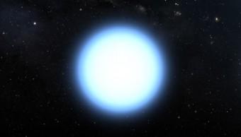 Illustrazione artistica di una nana bianca isolata. Crediti: NASA/ESA