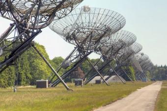 Le antenne del WSRT. Crediti: Raimond Spekking