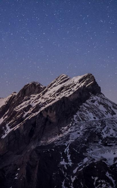 Il cielo sopra le Apuane. Crediti: Matteo Dunchi.