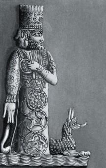 Il dio babilonese Marduk