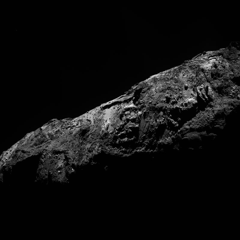Crediti: ESA/Rosetta/MPS for OSIRIS Team MPS/UPD/LAM/IAA/SSO/INTA/UPM/DASP/IDA