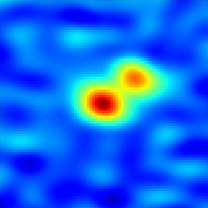Un giovane sistema binario. Crediti: Tobin, et al., NRAO/AUI/NSF