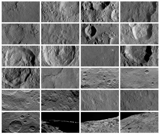 La raccolta di immagini del pianeta nano Cerere disponibile sul sito della missione NASA Dawn.