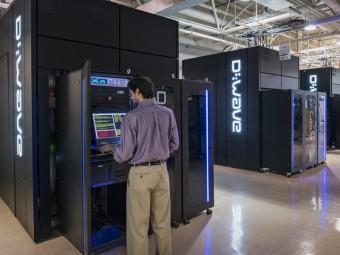 Il computer quantistico D-Wave 2X comprato da Google e ospitato allo Ames Research Center della NASA. Crediti: D-Wave
