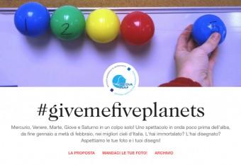 Partecipa anche tu su Tumblr al contest #givemefiveplanets