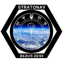 Il logo dell'esperimento STRATONAV Credits: STRATONAV