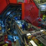 Foto scattata al rivelatore di ALICE nel 2008. Crediti: CERN