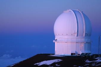 Il Canada France Hawaii Telescope. Crediti: Vadim Kurland