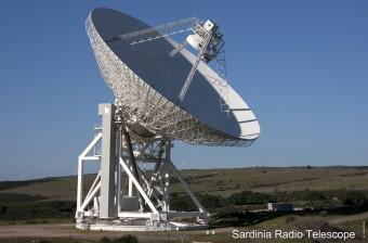Il Sardinia Radio Telescope (Crediti: Gianni Alvito)